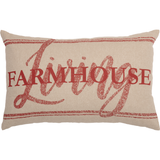 (SALE) Sawyer Mill Red Farmhouse Living 14 x 22