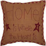 VHC NINEPATCH STAR HOME PILLOW 12 X 12