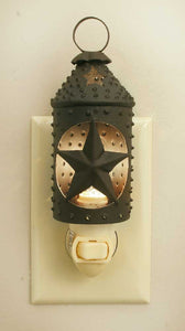 Punched Star Paul Revere Night Light - Fort Valley Bob's Simple Man Store
