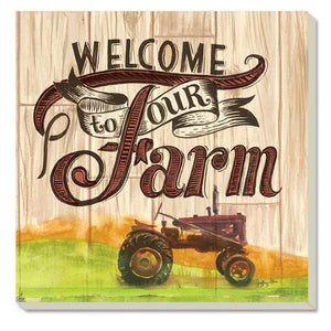 Coaster Our Farm With Tractor set of 4