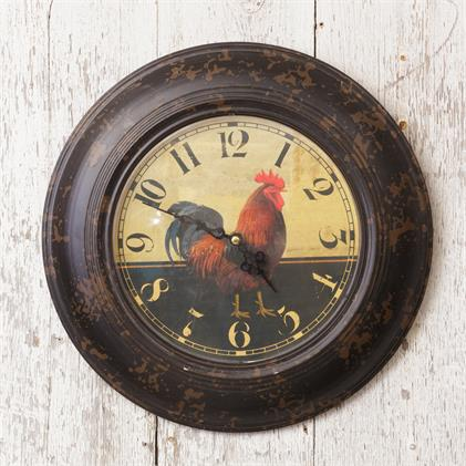 Wall Clock - Red Rooster