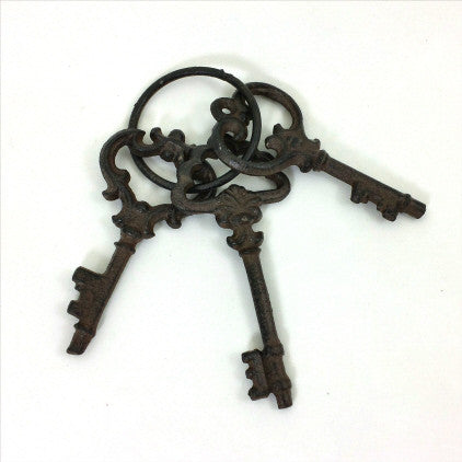 Keys - Cast Iron - Fort Valley Bob's Simple Man Store