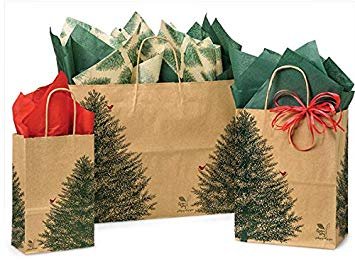 GIFT BAG W/ - EVERGREEN