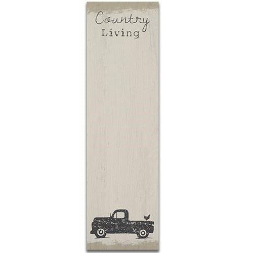 Country Living note pad