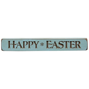 Engraved Sign HAPPY EASTER 12""