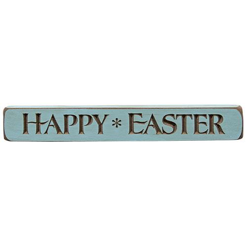 Engraved Sign HAPPY EASTER 12
