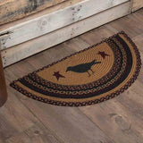 "VHC Jute Rugs 20 x 30""(choice) or HALF Circle (Choice)"