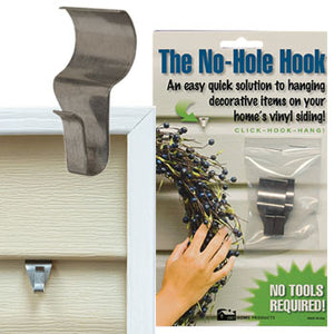 NO HOLE HOOK , LOW PROFILE - 2 pk