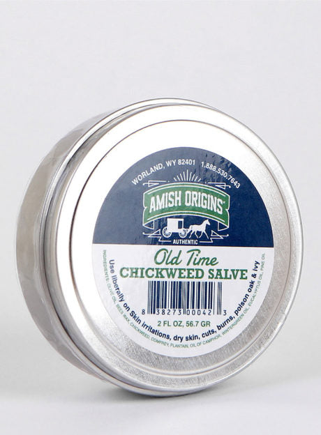 Amish Origins 2 oz Chickweed Salve