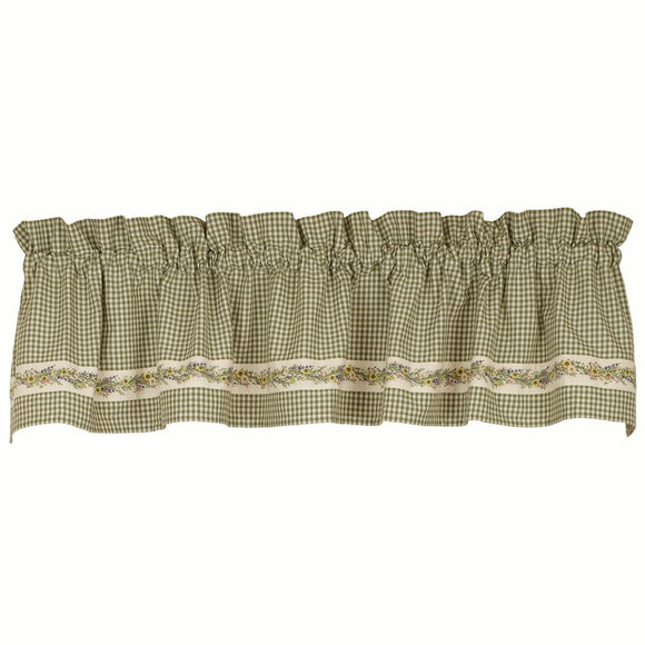 Wildflower Vine Valance 72
