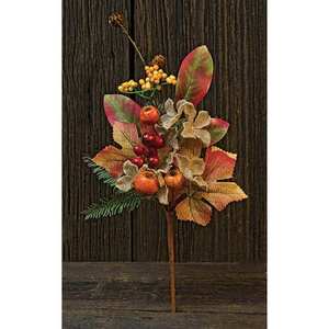 BURLAP CRAB APPLE PICK 15""