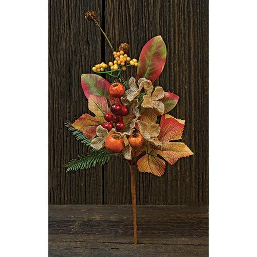 BURLAP CRAB APPLE PICK 15