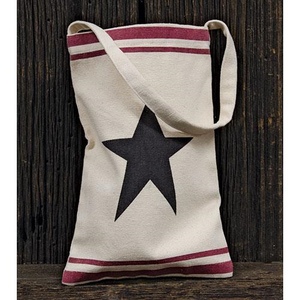 50% OFF) SMALL FABRIC BAG with Star