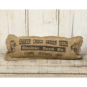 (SALE) SHAKER SEED PILLOW  17 X 6""