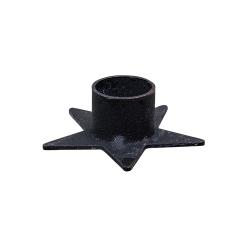 Star Taper Holder Black
