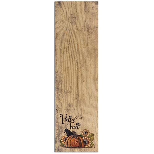 Hello Fall Notepad