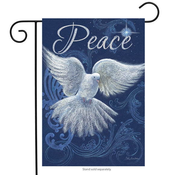 GARDEN FLAG - Peace Dove
