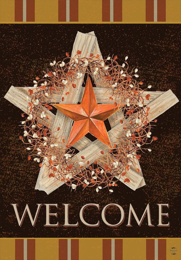Autumn  Barnstar House or Garden Flag