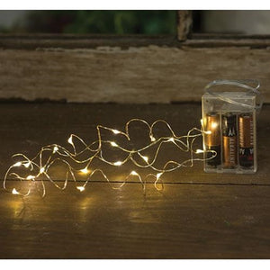 LED Battery Bud String Lights - 20 Lights