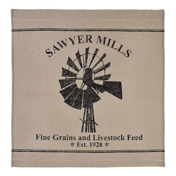 VHC SAWYER MILL Shower Curtain WINDMILL