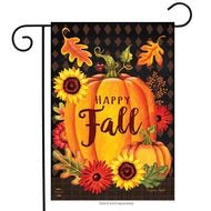 Happy Fall Pumpkin Garden Flag