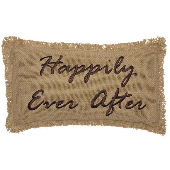 VHC-Happily Ever After pillow 7 x 13