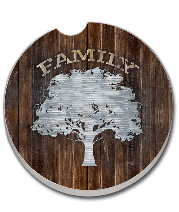 Car Coaster Family Tree