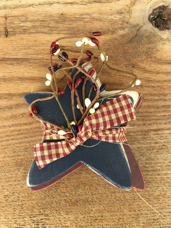 "5"" AMERICANA STAR (set of three)"