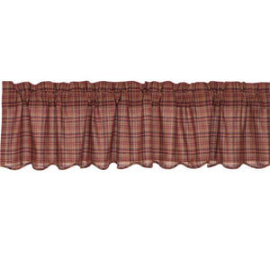 VHC PARKER Scalloped VALANCE 16 X 60""