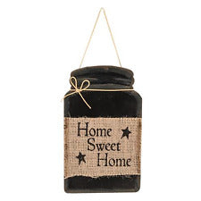 Home Sweet Home Jar Sign