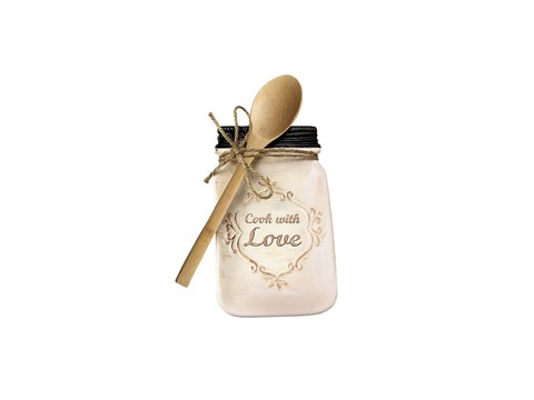 Ceramic Spoon rest CREAM MASON