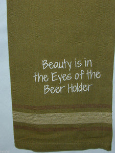 BEAUTY IS IN THE EYE DISH / TEA TOWEL