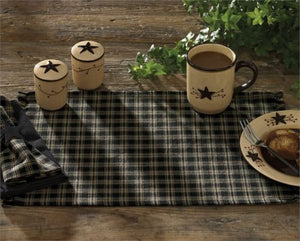 Sturbridge Place Mats in Black by Park Designs - Fort Valley Bob's Simple Man Store