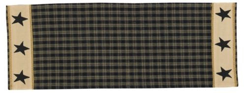 Sturbridge Table Runner 13 x 36 Black Star by Park Designs - Fort Valley Bob's Simple Man Store