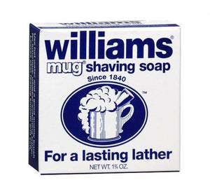 Williams Mug Shaving Soap Regular 1.75 oz. - Fort Valley Bob's Simple Man Store