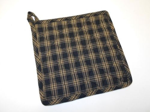 Sturbridge Pot Holders - Black - Fort Valley Bob's Simple Man Store