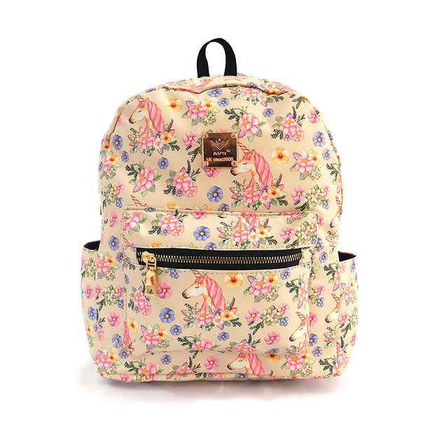 Mochilas Mini con flores - Calidad Regular