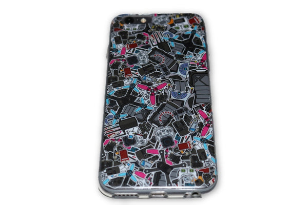 iPhone Cases - Stickerbomb - Nemos Miniquad Supplies