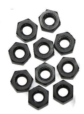 M3 Nylon Hex Nut - 5 Pack