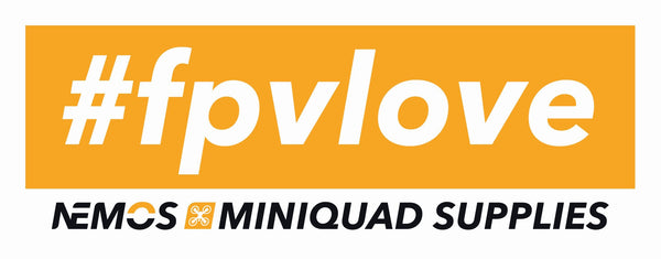 #FPVLOVE! - Sticker - Nemos Miniquad Supplies