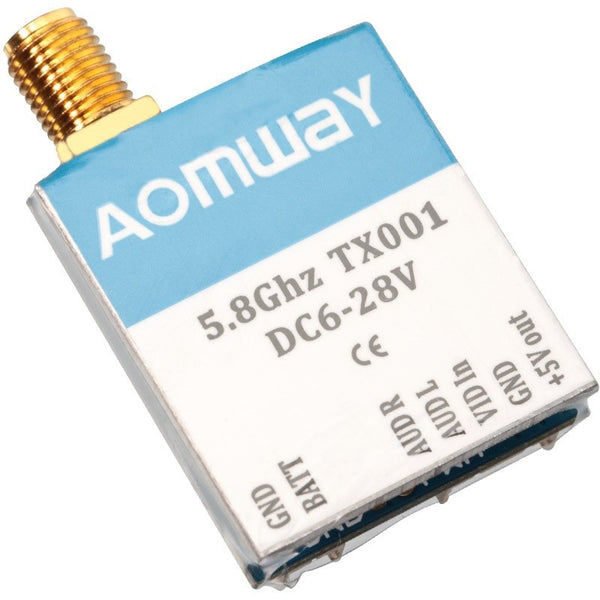 Aomway TX001 5.8Ghz (Switchable) FPV Video Transmitter - (SMA)