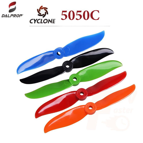 DALProps 5050C Cyclone BI-BLADE Race Propellers - Nemos Miniquad Supplies