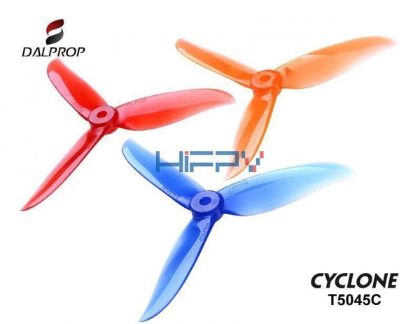 DALProps T5045C Cyclone TRI-BLADE Race Propellers - Nemos Miniquad Supplies