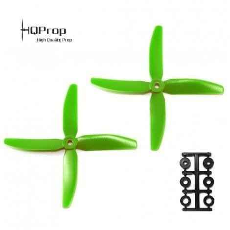 HQProp 5x4x4 - Green (2 Pack)-Nemos Miniquad Supplies
