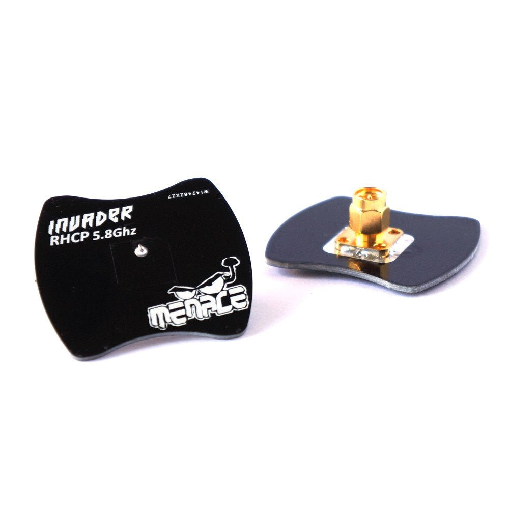 MenaceRC Invader Antenna 5.8Ghz Polarised Receiver Patch Antenna - Nemos Miniquad Supplies