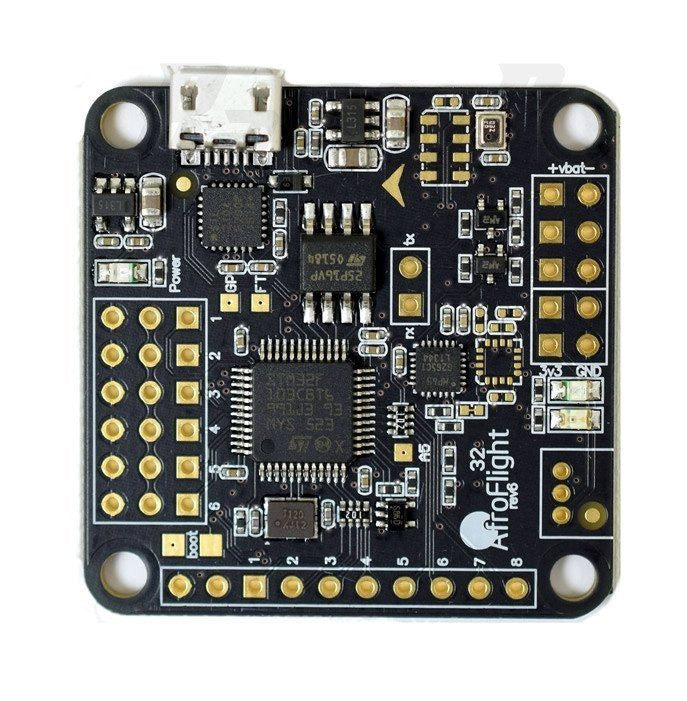 Naze32 Rev6 6DOF Flight Controller-Nemos Miniquad Supplies