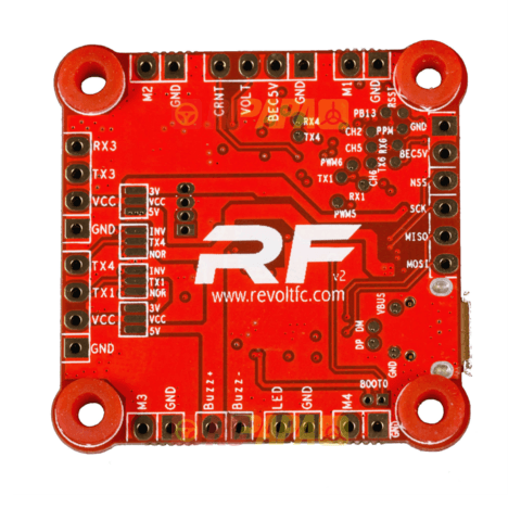 Revolt F4 Raceflight Flight Controller - V2 - Nemos Miniquad Supplies