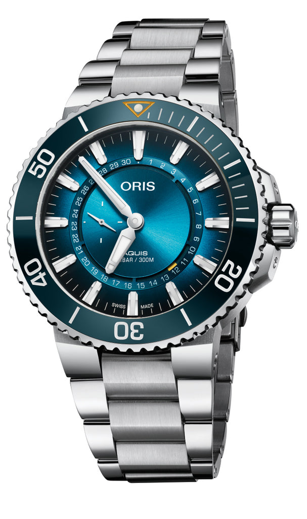 Oris 74377344185 Great Barrier Reef Automatic Mens Watch