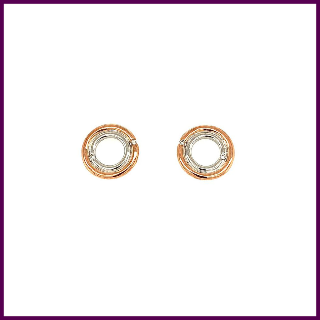 Pure Passion 191829 Shining Round Earring Studs