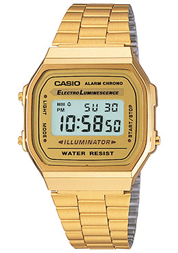 Casio A168WG-9 Quartz Mens Watch